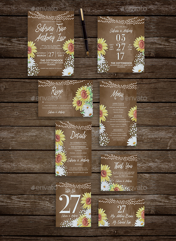 75 High Quality Wedding Invitation Card Designs PSD InDesign – Download Invitation Cards