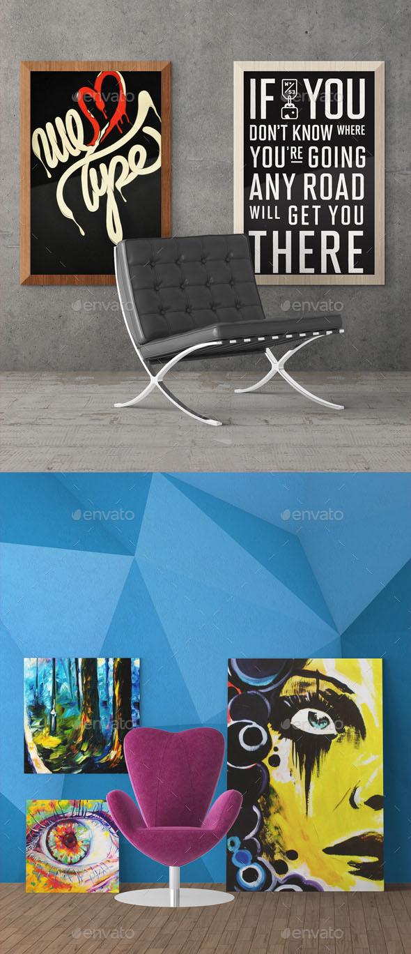 36+ Best Decor Wall Art Mockups (PSD)   Free & Premium Download