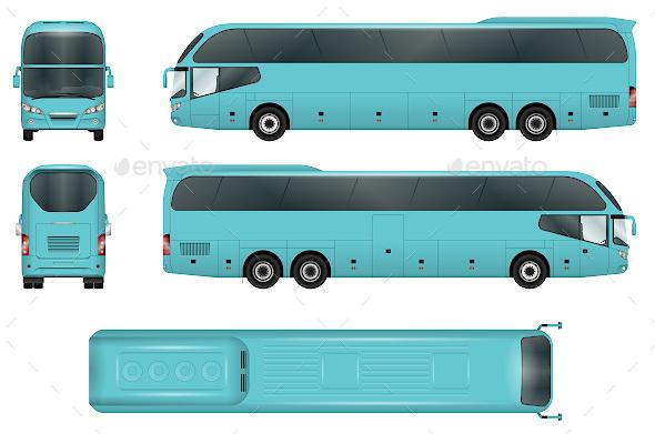 25 bus advertising templates psd vector free premium download