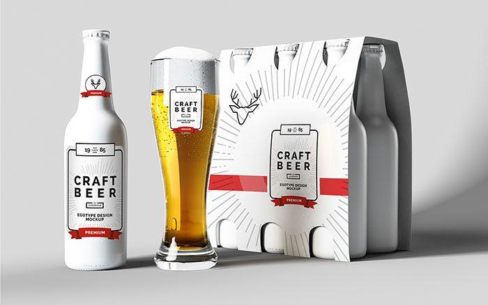 45 Best Beer Bottle Can Mockups 2020 Psd Vector Free