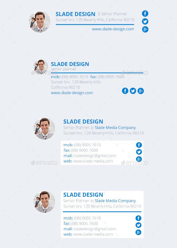 21 Email Signature Design Premium