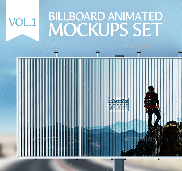 Animated Edition – Outdoor Advertising Mockups