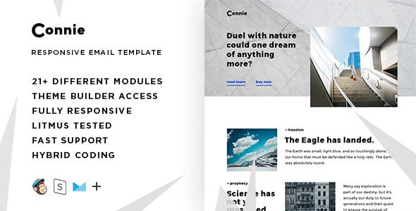 55 best responsive email newsletter templates 2017 html psd. Black Bedroom Furniture Sets. Home Design Ideas