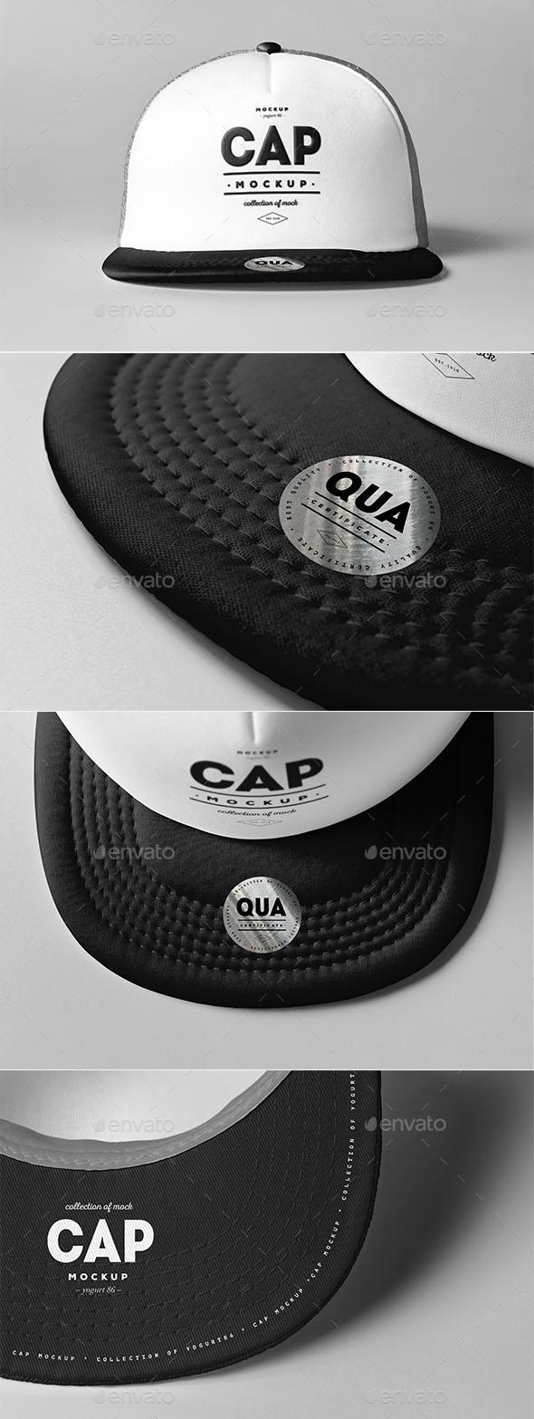 Premium Cap Mockup 3