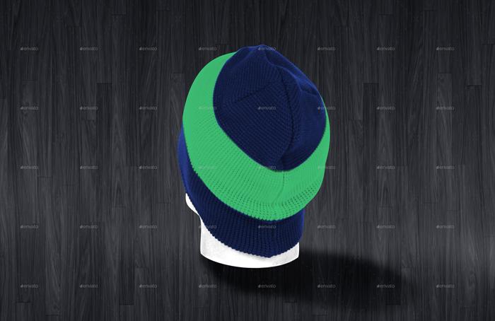 Premium Men's Hats Mockup