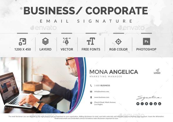 1200×450 Email Signature