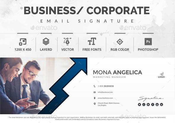 RGB Color Premium Email-Signature