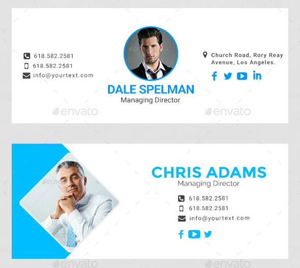 10 Templates – Email Signatures Premium