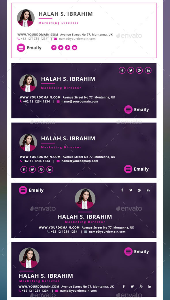 Emaily – Creative Email Signature