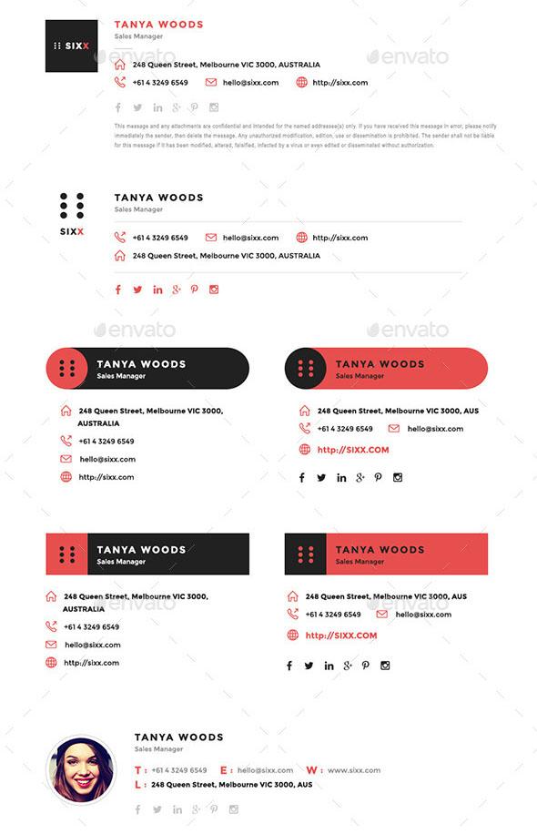 12 HTML Professional E-Signature Templates