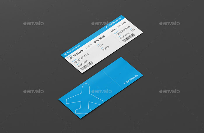 Multipurpose Ticket Templates PSD Vector Word - Ticket design template photoshop