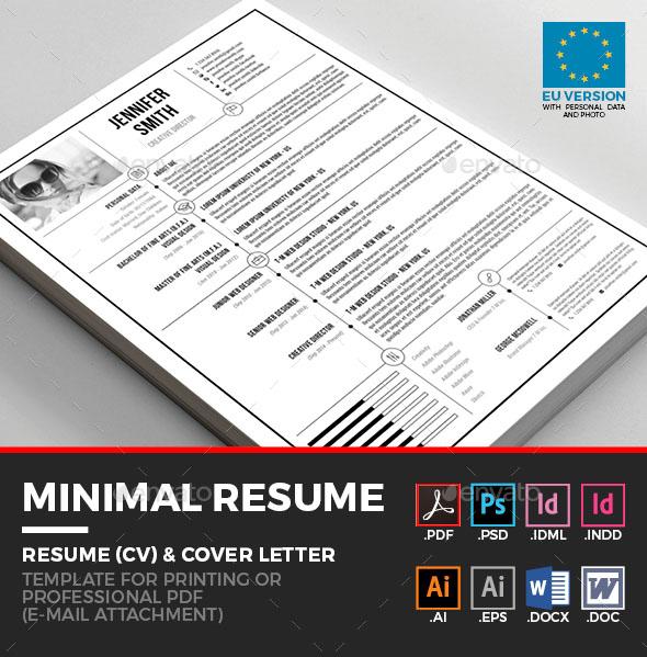 Premium Minimal Resume – Simple and Clean Resume