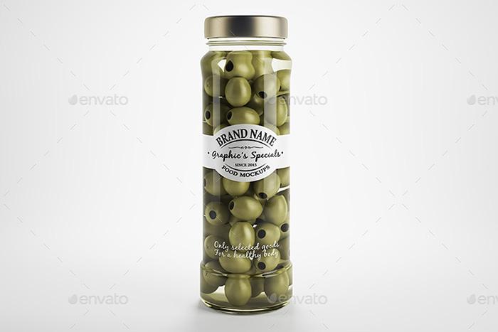 Premium Jar / Bottle Mockups