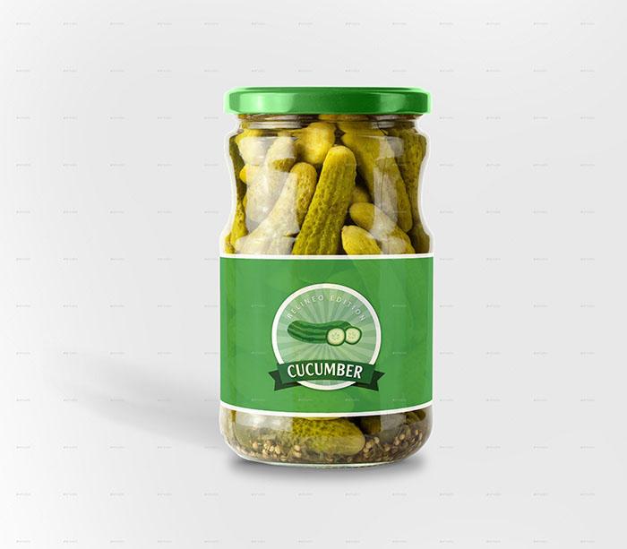 Jar Bottle Label Mockup Bundle