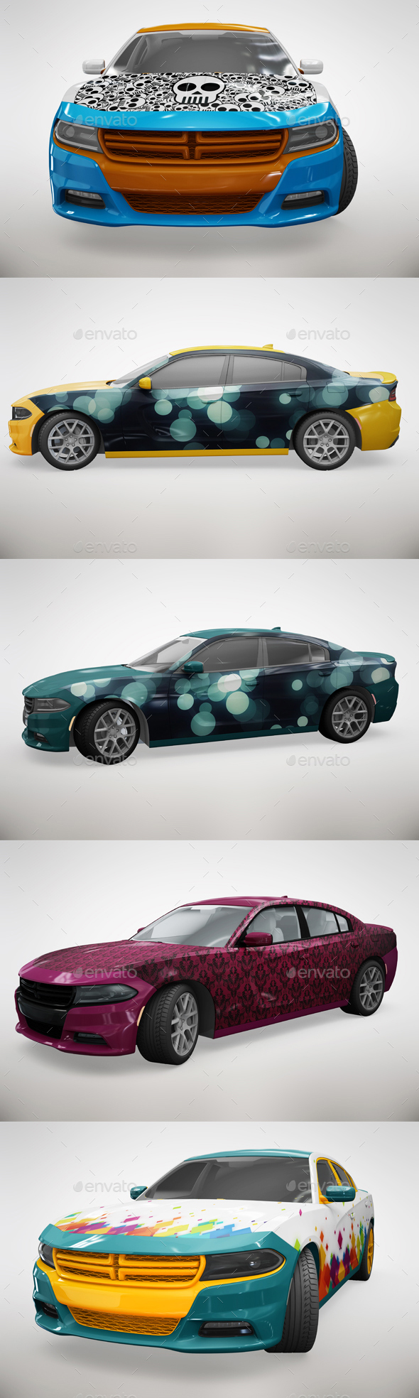 Car Wrap Templates | 56 Awesome Car Branding Mockups Psd Free Premium Download