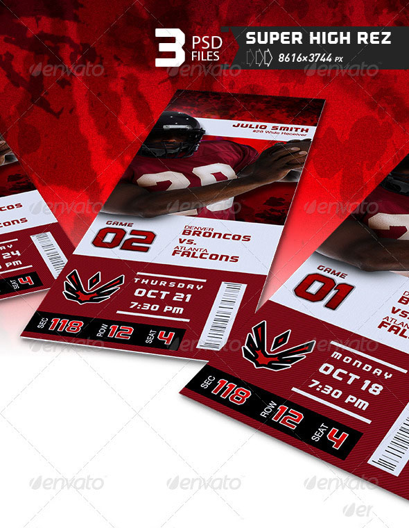 Event Ticket Template & Mockup Combo 2.0