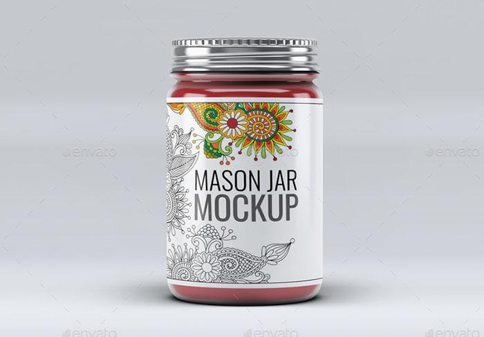 Premium – Mason Jar Mock-Up V.2