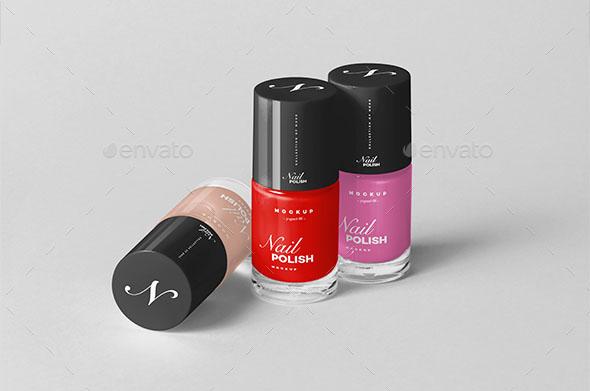 Premium – Nail Polish Mockup