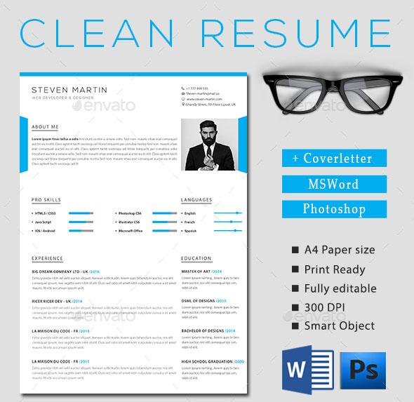 Simple & Clean Resume
