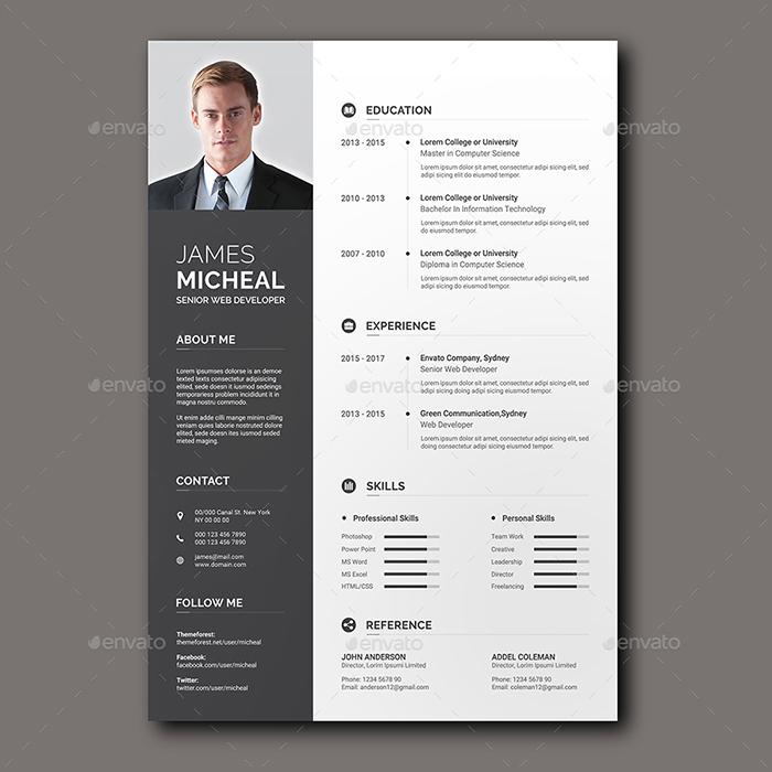 Easy to Customize Resume