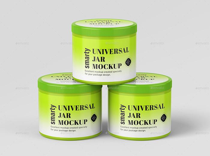 Universal Jar Mockups – Premium