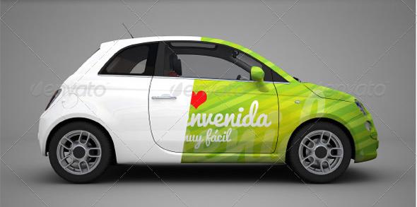 car branding mockup psd free download