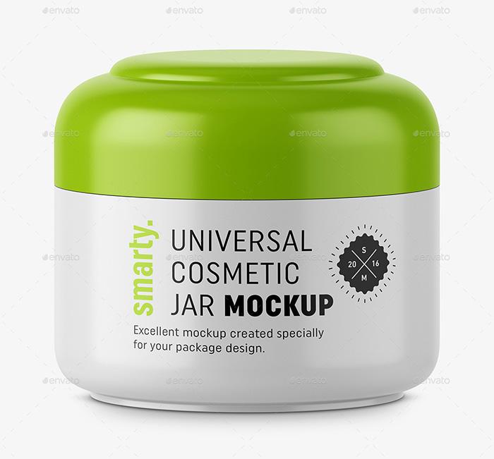 Good Quality Cosmetic Jar Mockup