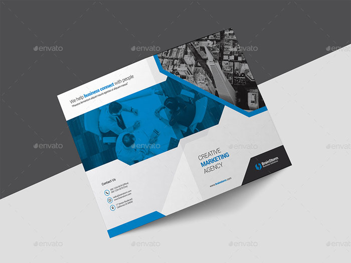 Best Brochure Templates And Mockups PSD Free Premium - Brochure template photoshop