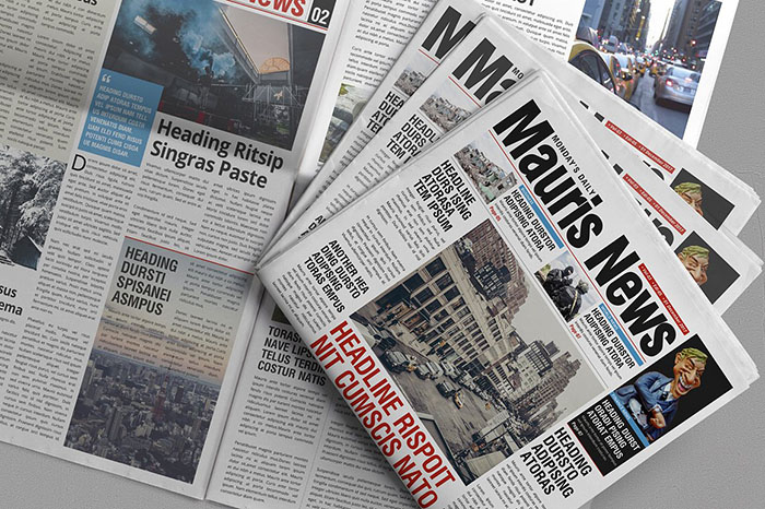16 Page Newspaper Design