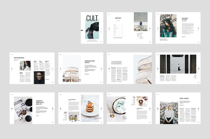 62+ Best Magazine Cover Templates and Mockups 2018 (PSD, InDesign)
