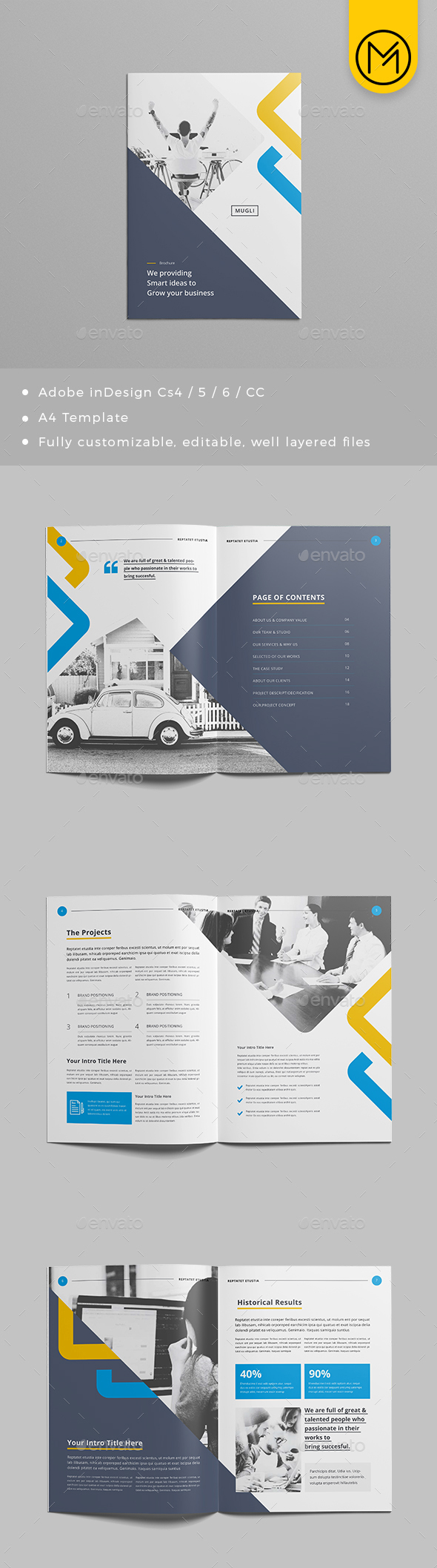 61+ Best Brochure Templates and Mockups 2018 (PSD) | Free & Premium