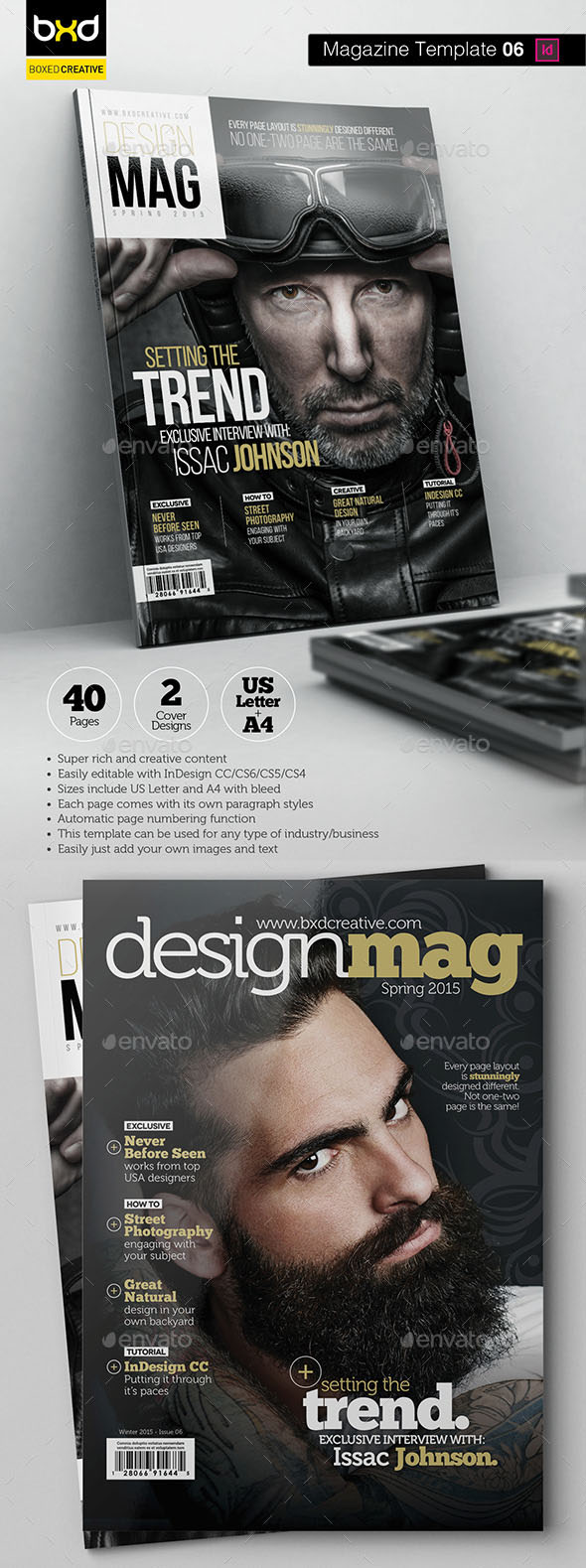 62 Best Magazine Cover Templates And Mockups 2018 Psd Indesign