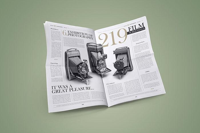 Newspaper Mockup Set (PSD)