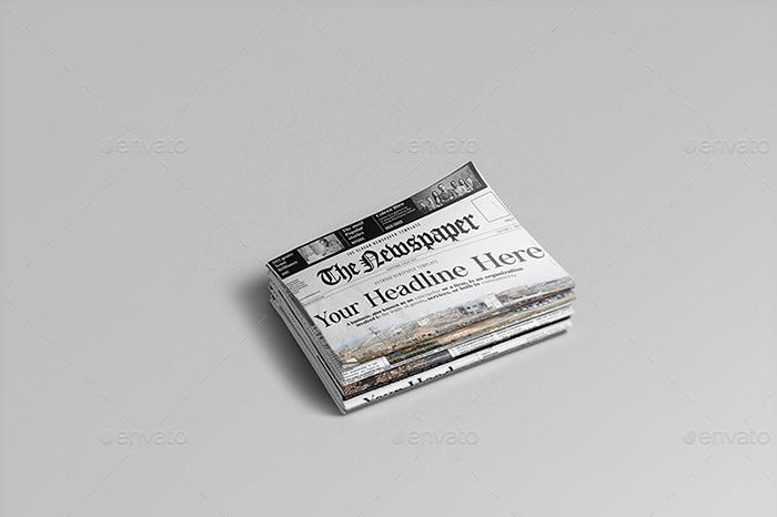 Premium Newspaper Mockups