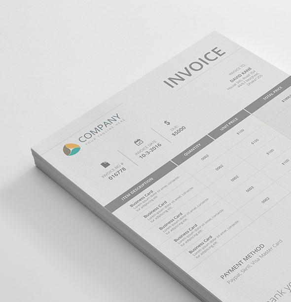 70 Invoice Design Templates 2021 Psd Word Excel Pdf Indesign