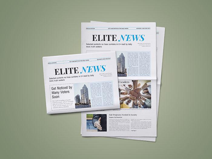 Newspaper Elite