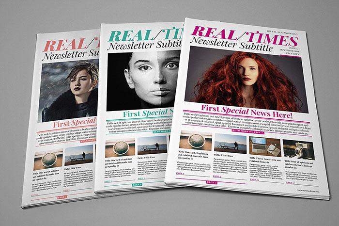 Multiformat Newspaper