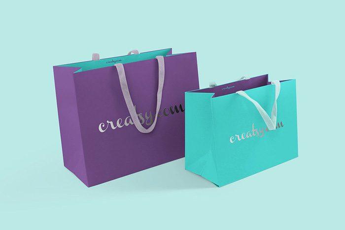 60 Paper Bag Plastic Bag And Shopping Bag Mockups 2020 Psd