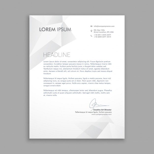 50 Best Letterhead Design Templates 2018 Psd Word Pdf Indesign