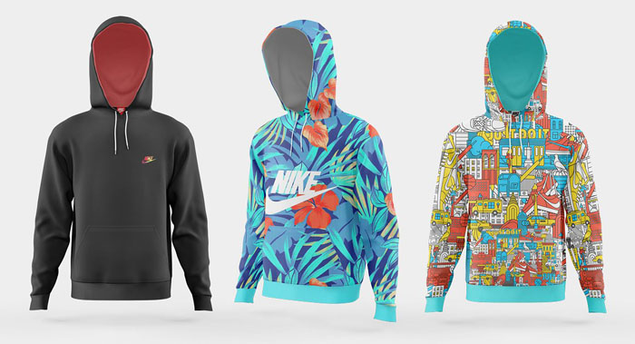 64+ Awesome Hoodie and Sweatshirt Mockups 2018 (PSD)