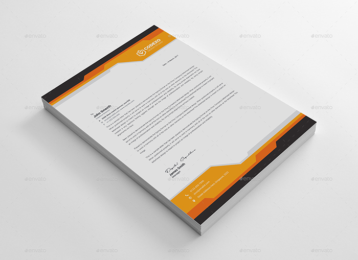 50 Best Letterhead Design Templates 2020 Psd Word Pdf Indesign