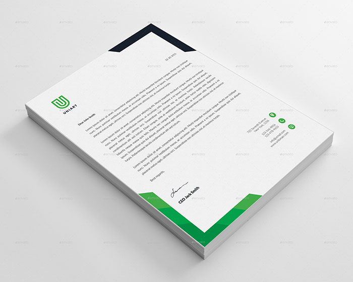 50 best letterhead design templates 2018 psd word pdf indesign letterhead template spiritdancerdesigns Choice Image
