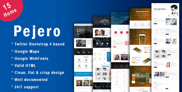 71 clean responsive bootstrap 3 4 website templates 2018 html5 pajero one page parallax business html5 template accmission Choice Image