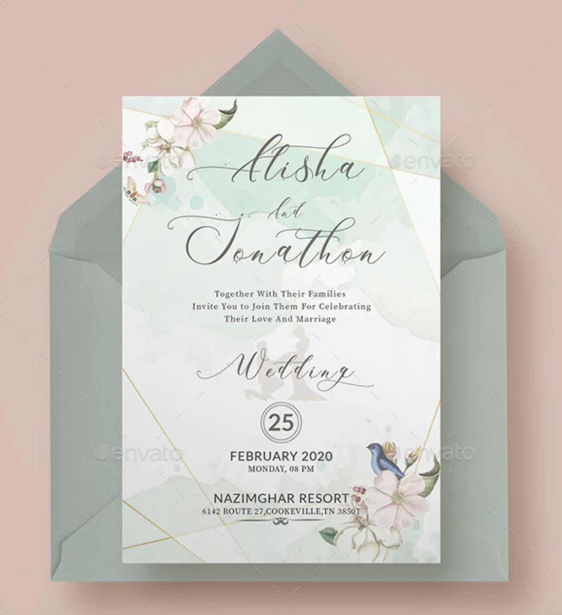 The 35 Best Wedding Gifts Of 2020: 57+ Best Gift, Greeting And Invitation Card Mockups 2019